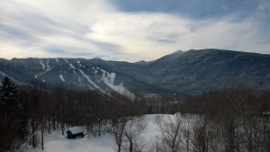 Smugglers Notch is a ski / snowboarding resort in Vermont.